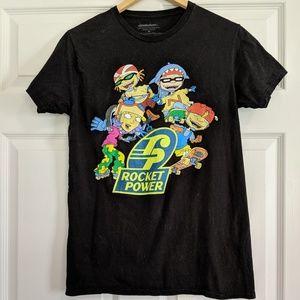 Nickelodeon Power Squad Retro Tee Medium 90s